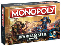 Image: Warhammer 40K Monopoly Board Game  - Usaopoly