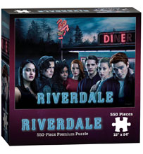Image: Riverdale Puzzle  (550-Piece) - Usaopoly