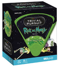 Image: Rick and Morty Trivial Pursuit Board Game  - Usaopoly