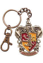 Image: Harry Potter Crest Keychain: Gryffindor  - Noble Collection