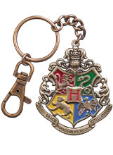 Image: Harry Potter Crest Keychain: Hogwart's  - Noble Collection