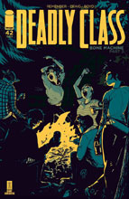 Image: Deadly Class #42 (cover A - Craig) - Image Comics