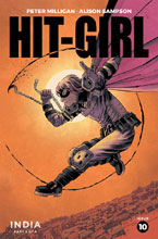Image: Hit-Girl Season Two #10 (cover A - Shalvey) - Image Comics