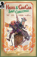 Image: Hazel & Cha Cha Save Christmas Tales: Umbrella Academy  (cover A - Tommy Lee Edwards) - Dark Horse Comics