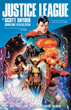Image: Justice League by Scott Snyder Vol. 01: The Deluxe Edition HC  - DC Comics