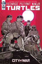 Image: Teenage Mutant Ninja Turtles #100 (incentive 1:10 cover - Santolouco) - IDW Publishing