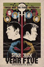 Image: Star Trek: Year Five Vol. 01 - Odyssey's End SC  - IDW Publishing