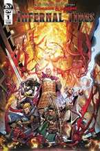 Image: Dungeons & Dragons: Infernal Tides #1 (cover A - Dunbar) - IDW Publishing