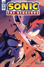 Image: Sonic the Hedgehog #23 (incentive 1:10 cover - Fourdraine) - IDW Publishing