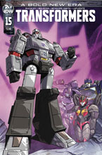 Image: Transformers #15 (cover A - Perez) - IDW Publishing