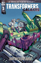 Image: Transformers Galaxies #3 (cover B - Chan) - IDW Publishing