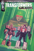 Image: Transformers Galaxies #3 (incentive 1:10 cover - Hernandez) - IDW Publishing