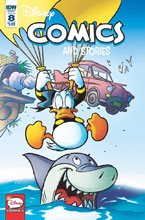 Image: Disney Comics and Stories #8 (cover A - Freccero) - IDW Publishing