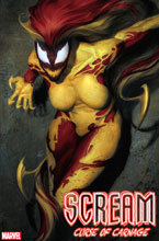 Image: Scream: Curse of Carnage #1 (variant cover - Artgerm) - Marvel Comics