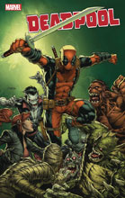 Image: Deadpool #1 (variant cover - Finch) - Marvel Comics