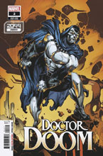 Image: Doctor Doom #2 (variant 2099 cover - Stroman) - Marvel Comics