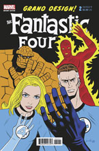 Image: Fantastic Four: Grand Design #2 (variant cover - Rugg) - Marvel Comics