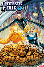 Image: Fantastic Four #16 (variant 2099 cover - Land) - Marvel Comics
