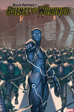 Image: Black Panther and the Agents of Wakanda #3 (variant 2099 cover - Rock-He Kim) - Marvel Comics