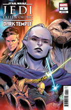 Image: Star Wars: Jedi Fallen Order - Dark Temple #4 (incentive cover) - Marvel Comics