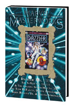 Image: Marvel Masterworks Dazzler Vol. 01 HC  (variant DM cover  - Marvel Comics