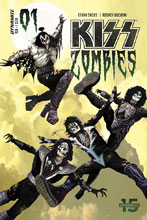 Image: Kiss: Zomibes #1 (cover A - Suydam) - Dynamite