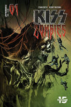 Image: Kiss: Zomibes #1 (cover B - Sayger) - Dynamite