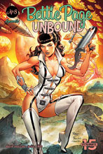 Image: Bettie Page: Unbound #8 (cover A - Royle) - Dynamite