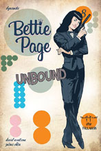 Image: Bettie Page: Unbound #8 (cover D - Qualano) - Dynamite