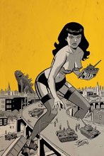 Image: Bettie Page: Unbound Vol. 03 #8 (incentive 1:30 cover - Chantler virgin) - Dynamite