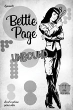 Image: Bettie Page: Unbound Vol. 03 #8 (incentive 1:40 cover - Qualano virgin) - Dynamite