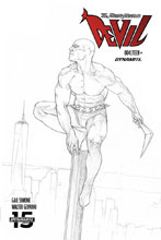 Image: Death-Defying Devil Vol. 02 #4 (incentive 1:10 cover - Federici B&W) - Dynamite