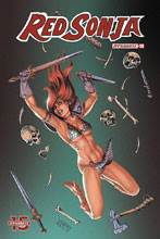 Image: Red Sonja Vol. 05 #10 (cover B - Linsner) - Dynamite