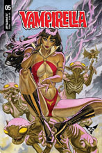 Image: Vampirella #5 (cover B - March) - Dynamite