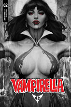 Image: Vampirella #2 (variant Noir with Dress cover - Artgerm) - Dynamite