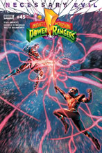Image: Mighty Morphin Power Rangers #45 (cover A - Campbell) - Boom! Studios
