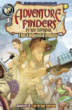 Image: Adventure Finders: Edge of Empire #4 - Action Lab Entertainment
