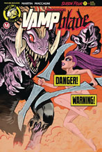Image: Vampblade: Season 4 #7 (cover D - Baugh risque) - Action Lab - Danger Zone
