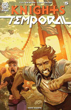 Image: Knights Temporal #5 - Aftershock Comics