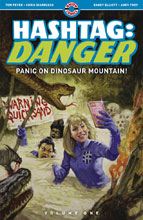 Image: Hashtag Danger Vol. 01: Panic on Dinosaur Mountain SC  - Ahoy Comics