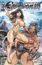 Image: Cavewoman: Barbarian Princess & Meriem  (cover A - Massey) - Amryl Entertainment