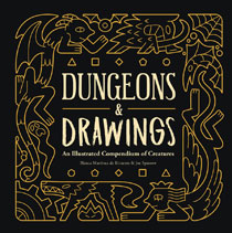 Image: Dungeons & Drawings: Illustrated Compendium of Creatures HC  - Andrews Mcmeel