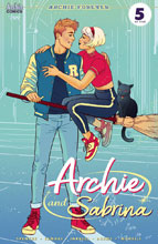 Image: Archie #709 (Archie & Sabrina Part 5) (cover B - Ganucheau) - Archie Comic Publications