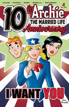 Image: Archie: Married Life 10 Years Later #4 (cover A - Parent) - Archie Comic Publications
