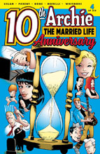 Image: Archie: Married Life 10 Years Later #4 (cover B - Burchett) - Archie Comic Publications