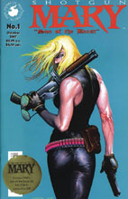 Image: Shotgun Mary: Son of a Beast #1 (Gold Seal cover - Esad Ribic)  [2019] - Avatar Press Inc