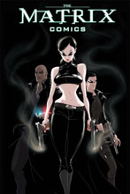 Image: Matrix Comics 20th Anniversary Deluxe Edition HC  (variant cover - Trinity) - Burlyman Entertainment