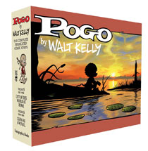 Image: Pogo Complete Syndicated Strips Box Set Vol. 5 & 6 HC  - Fantagraphics Books