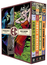 Image: EC Comics Four Slipcase Vol. 04 HC  - Fantagraphics Books