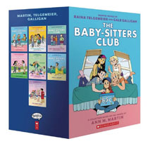 Image: Baby Sitters Club Color Edition Box Set 1-7  - Graphix